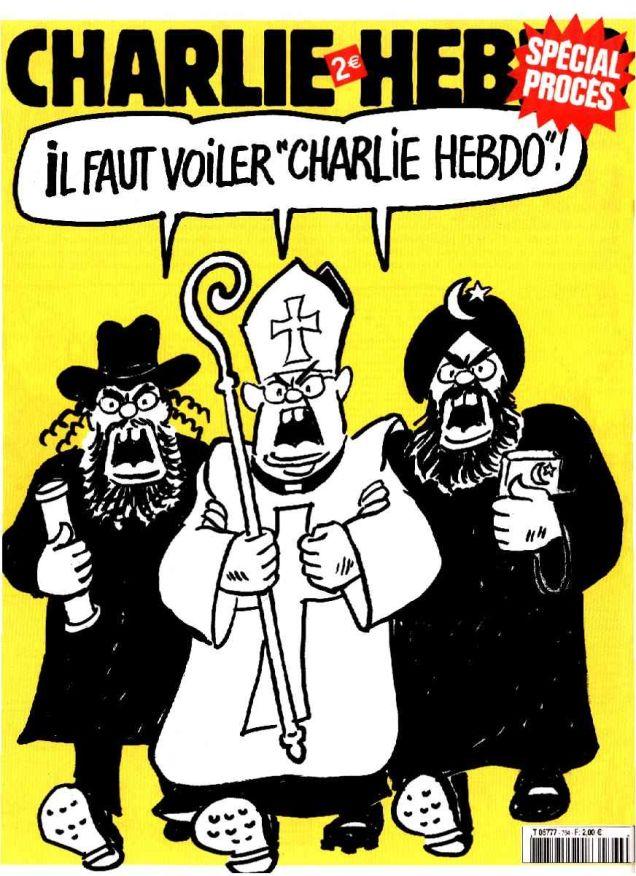 """Charlie Hebdo Should Be Veiled"""