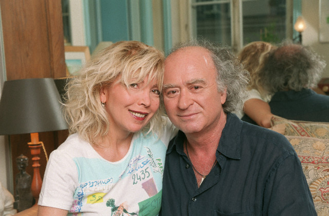 Georges Wolinski with wife Maryse. Image by © Eric Fougere/Kipa/Corbis